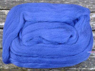 Merino uld spindefibder 1 marineblå
