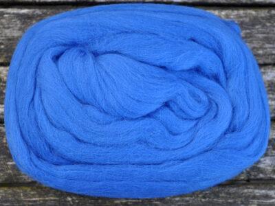 Merino uld spindefiber 2 kinablå