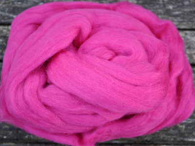 Merino uld spindefiber 49 sorbet is