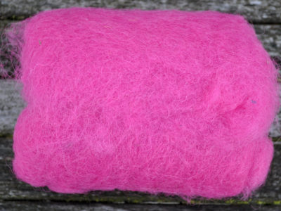 Tyroler uld filtefiber 03 rosa