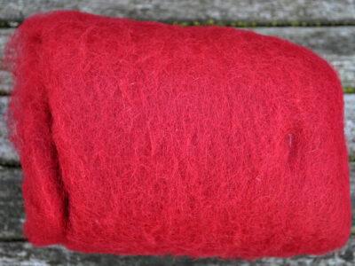 Tyroler uld filtefiber 06 rødbrun