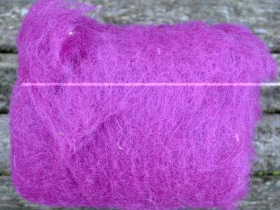 Tyroler uld filtefiber 09 Violet