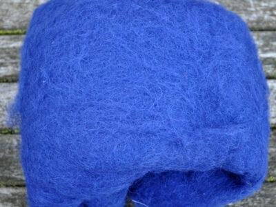 Tyroler uld filtefiber 18 Azurblå