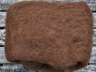 Tyroler uld filtefiber 31 kastanje
