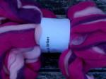100g Striber - cerise farve 1 1