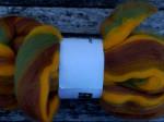 100g Striber - latte/kivi/solgul farve 9 1