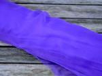 1 meter silkechiffon - farve 41/syren 1