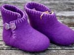 Filthjemmesko baby - violet NYHED 1