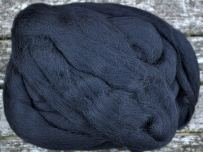 Merino uld spindefiber 81 sort