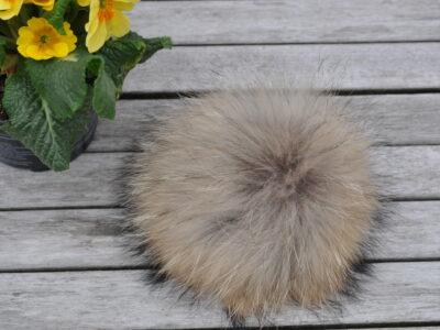 Ægte pels pomponer