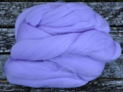 Merino uld spindefiber 57 lavendel