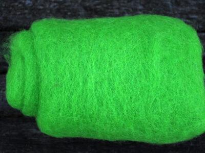 Tyroler uld filtefiber 17 græsgrøn