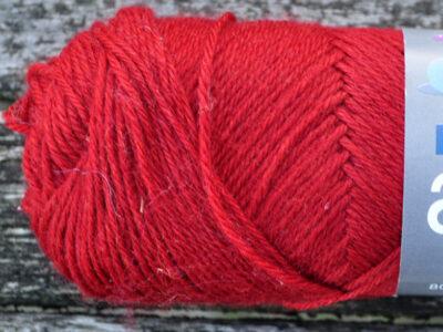 Strikkegarn arwetta dyb rød139