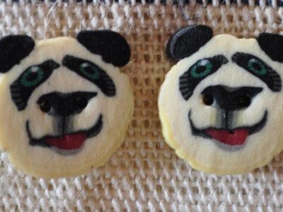 Hamilton Fimo knap Panda