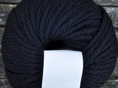 Rowan strikkegarn Big Wool 008_black