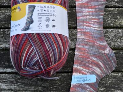 Regia strømpegarn Season Color Christkind_09415