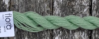 Flora broderigarn i uld fra Fru Zippe   Farve 8009