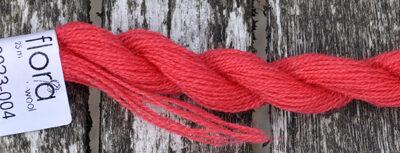 Flora broderigarn i uld fra Fru Zippe   Farve 8023