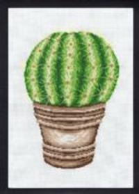 Broderikit kaktus guldkugle