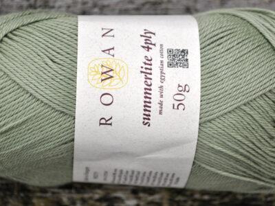 Bomuldsgarn fra Rowan Summerlite jade 445