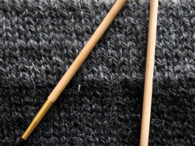 Knitpro udskiftelig strikkepind Basix birch