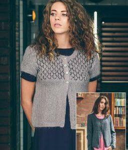 Rowan strikke design | Opskrift til Andrea