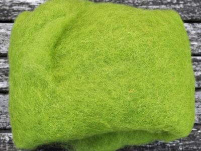 Tyroler uld filtefiber 46 pistacie