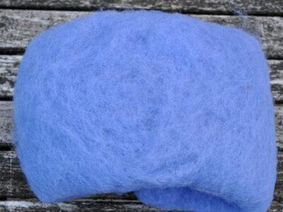 Tyroler uld filtefiber 48 blålilla