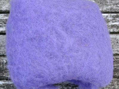 Tyroler uld filtefiber 50 lilla