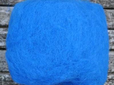 Tyroler uld filtefiber 65 kongeblå