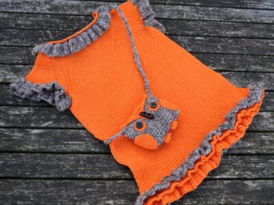 Strikdesign Minniemus orange