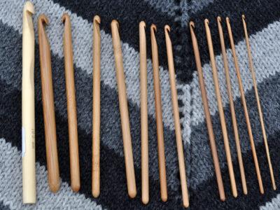 pony hæklenåle bambus