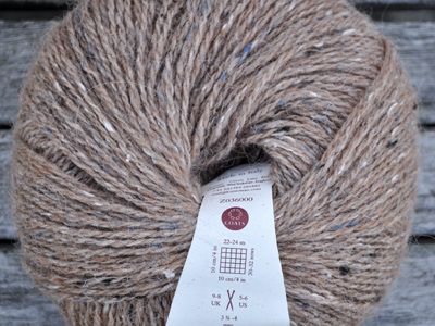 Strikkegarn fra Rowan Felted Tweed Camel/157