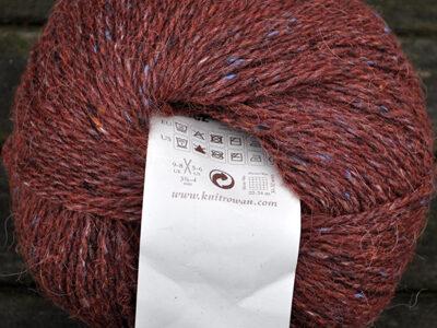 Strikkegarn fra Rowan Felted Tweed Barn Red/196