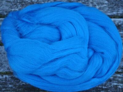Merino uld spindefiber 71 påfugle