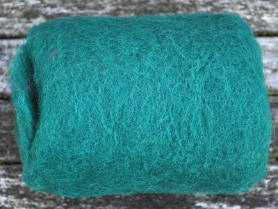 Tyroler uld filtefiber 11 Smaragd