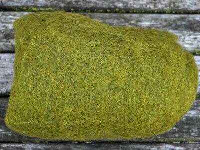 Tyroler uld filtefiber 33 olivengrøn