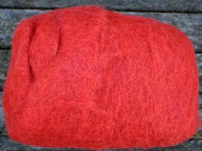 Tyroler uld filtefiber 72 Paprika