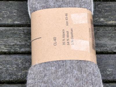 alpaca sokker og strømper brune nuancer