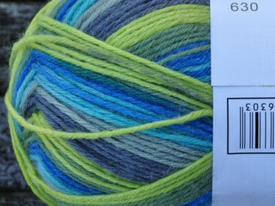 Aurora 6 tr strømpegarn farve 630