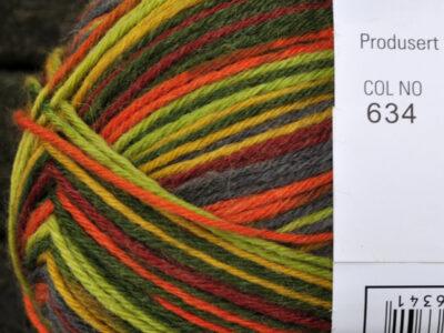 Aurora 6tr strømpegarn 634
