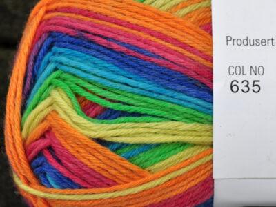 Aurora 6tr strømpegarn farve 635