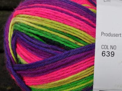 Aurora 6tr strømpegarn 639
