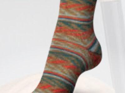 Regia strømpegarn Candy Color Makrone/1162 mønster
