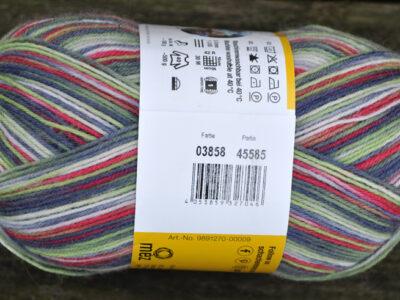 Strømpegarn Regia Gargia Color 3858