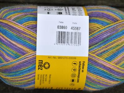 Strømpegarn Regia Design Line Gargia Color 3860