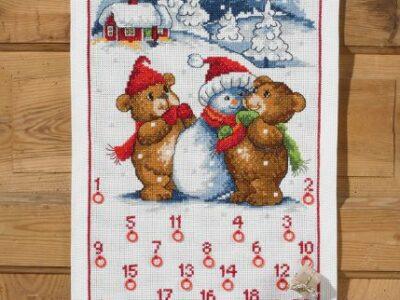 Julekalender Bamser og snemand