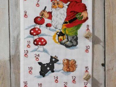 Julekalender Julemanden maler