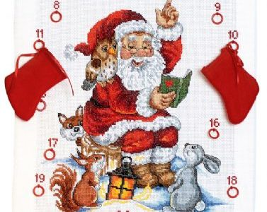 Julekalender Nisse læser historie