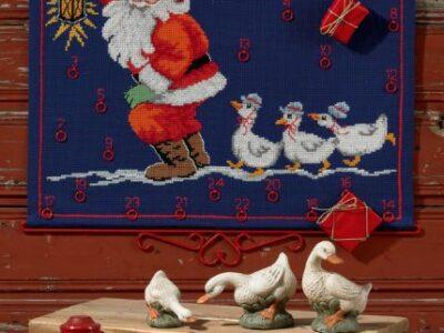 Julekalender Nisse med gæs